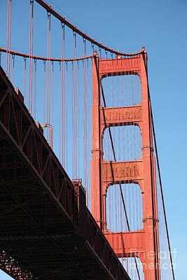 The Golden Gate Bridge 5d21578 Poster by Wingsdomain Art and Photography