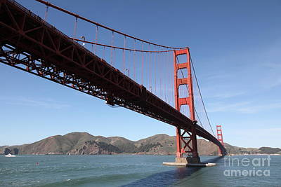 The Golden Gate Bridge 5d21606 Poster by Wingsdomain Art and Photography
