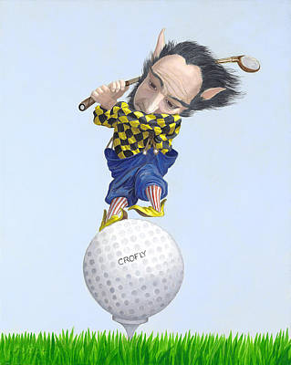 The Golfer Poster