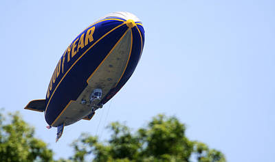 The Goodyear Blimp N3a Poster