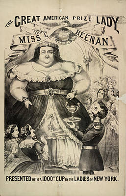 The Great American Prize Lady Poster by British Library