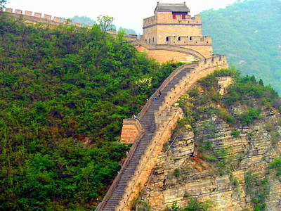 Poster featuring the photograph The Great Wall 2 by Kay Gilley