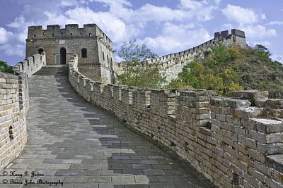 The Great Wall Of China At Mutianyu 1 Poster