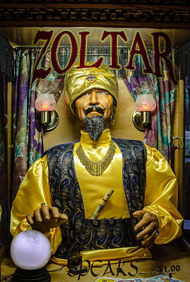 The Great Zoltar Poster by David Morefield