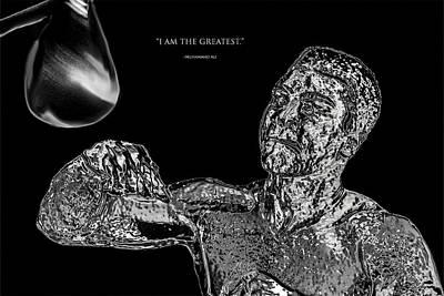 Muhammad Ali Chrome  Poster