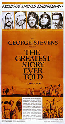 The Greatest Story Every Told, Us Poster by Everett
