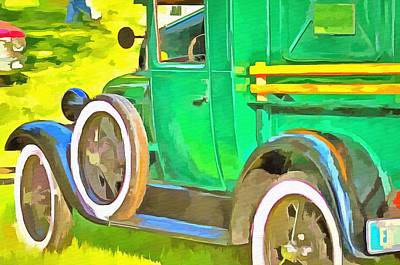 The Green Machine  Poster by L Wright