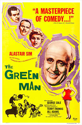 The Green Man, Us Poster Art, From Top Poster by Everett