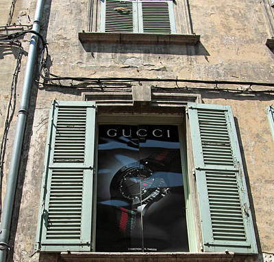The Gucci Window Poster