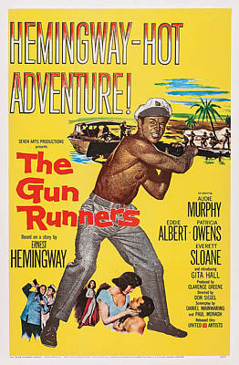 The Gun Runners, Us Poster Art, Audie Poster by Everett
