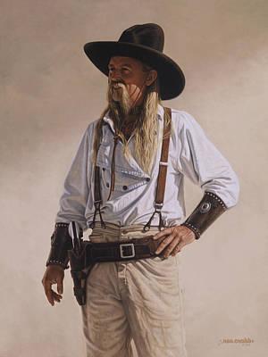 The Gunslinger Poster by Ron Crabb