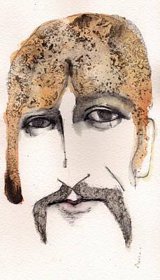 The Guru As George Harrison  Poster by Mark M  Mellon