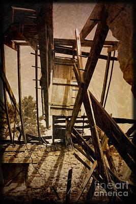 Poster featuring the photograph The Hanging Door by Liz  Alderdice