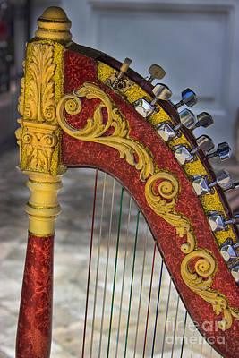 The Harp Poster by Al Bourassa