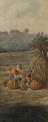 The Harvest Poster by Duane R Probus