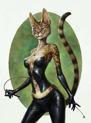 The Hermitage Cats' Dream Poster by Eldar Zakirov