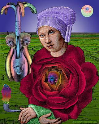 The Hidden Heart Poster by Eric Edelman