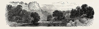 The High Tor, Matlock Poster by English School