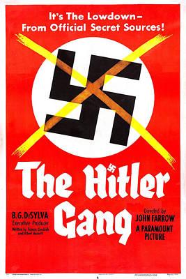 The Hitler Gang, Us Poster, 1944 Poster by Everett