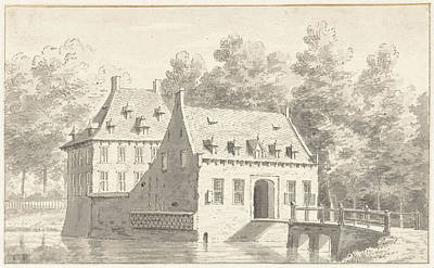The House Druten In Gelderland The Netherlands Poster