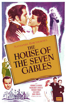 The House Of The Seven Gables, Us Poster
