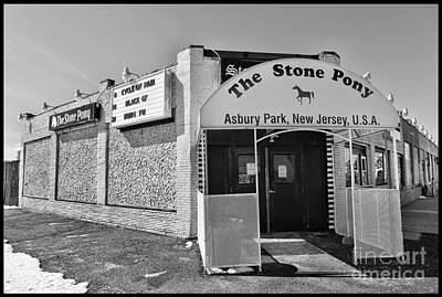 The House That Bruce Built II - The Stone Pony Poster by Lee Dos Santos