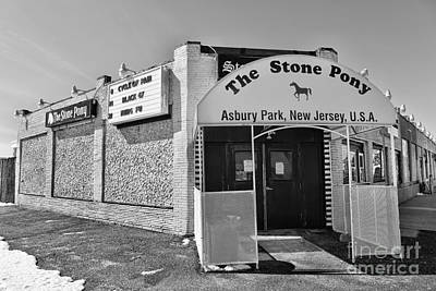 The House That Bruce Built - The Stone Pony Poster by Lee Dos Santos