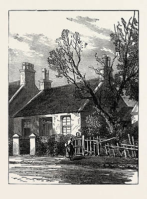 The House Where Livingstone Dwelt In His Youth Poster by English School