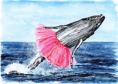 The Humpback Ballerina Poster