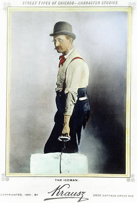 The Iceman, 1891 Poster