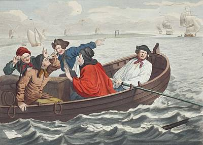 The Idle Prentice Turned Away And Sent Poster by William Hogarth
