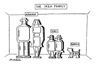 The Ikea Family Poster by Stuart Leeds