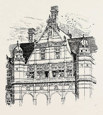 The Imperial Institute, London, Upper Part Of East And West Poster by English School