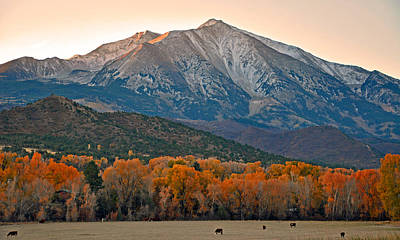 The Impressive Mount Sopris   Poster