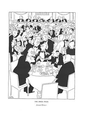 The Inner Man  Annual Dinner Poster