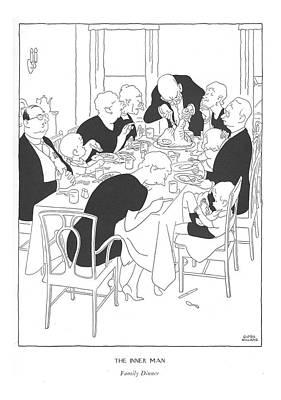 The Inner Man  Family Dinner Poster