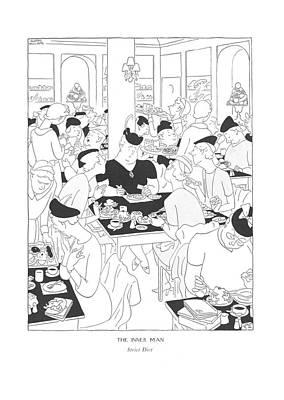 The Inner Man  Strict Diet Poster