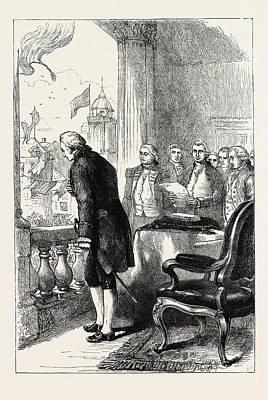 The Installation Of George Washington, United States Poster