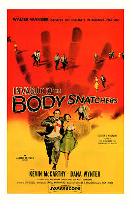 The Invasion Of The Body Snatchers 1956 Poster