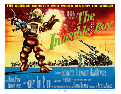The Invisible Boy Poster Poster by Gianfranco Weiss