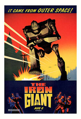 The Iron Giant 1999 Poster