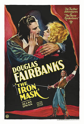 The Iron Mask, Us Poster, From Left Poster