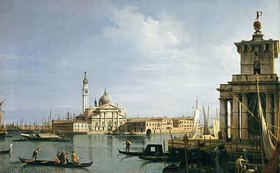 The Island Of San Giorgio Maggiore Poster by Canaletto