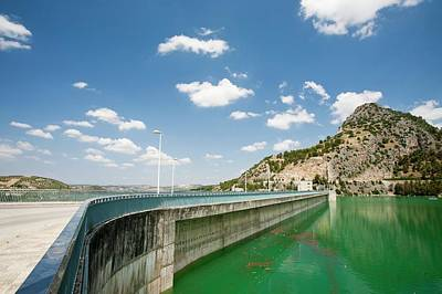 The Iznajar Reservoir Poster by Ashley Cooper