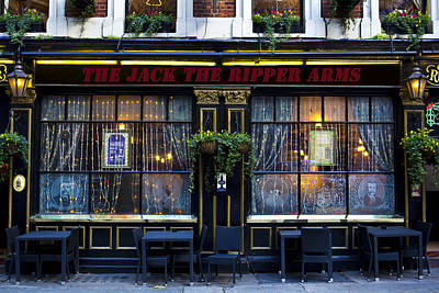 The Jack The Ripper Pub Poster