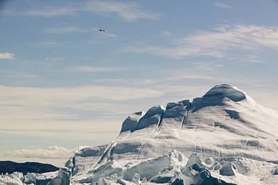 The Jakobshavn Glacier Poster by Ashley Cooper