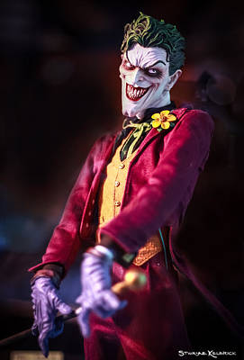 Poster featuring the photograph The Joker Dummy by Stwayne Keubrick