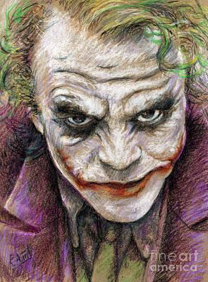 The Joker Poster by Roy Aiuto