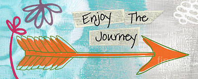 The Journey Poster by Linda Woods