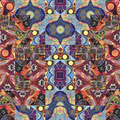 The Joy Of Design Mandala Series Puzzle 1 Arrangement 7 Poster